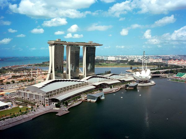 отель, Marina Bay Sands, Сингапур