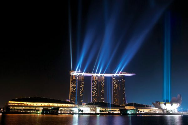 отель Marina Bay Sands, Сингапур